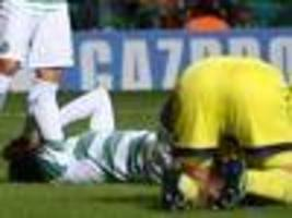 Celtic's luck runs out in Champions League